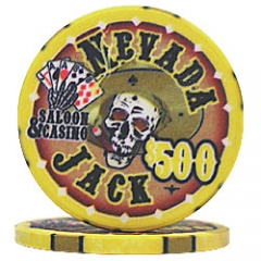 Nevada Jack Yellow $500