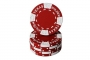 Texas Holdem Clay Red (25 kpl)